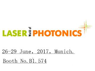 LASER World of PHOTONICS MUNICH 2017