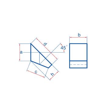 Half Penta Angle Prism