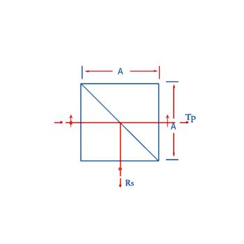 NPBS Non-polarizing Beam Splitter Cube