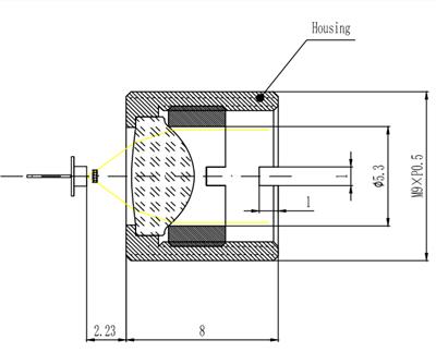Collimator Lens EFL4.05mm