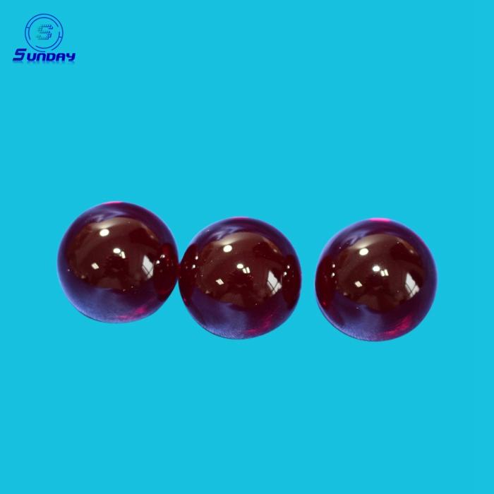 Ruby Ball Lens