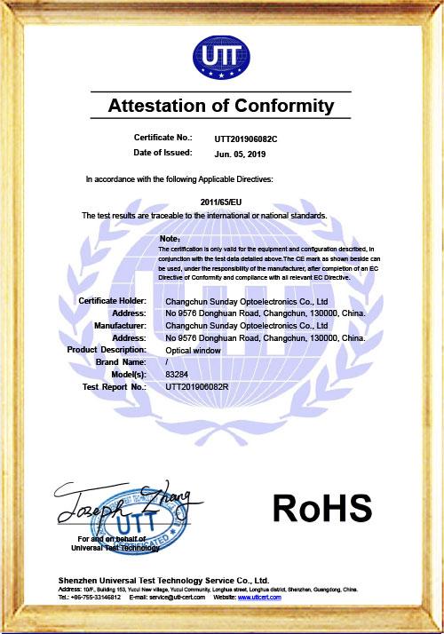 UTT201906082C-Certificate