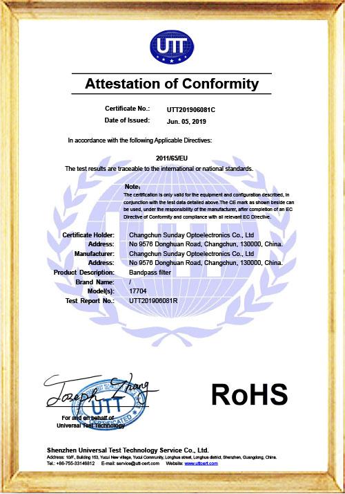 UTT201906081C-Certificate